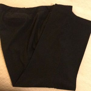 Lane Bryant Basic Black Straight Leg Dress Pant